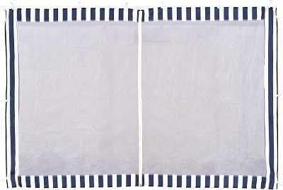 4140 Стенка синяя с москитной сеткой  фото