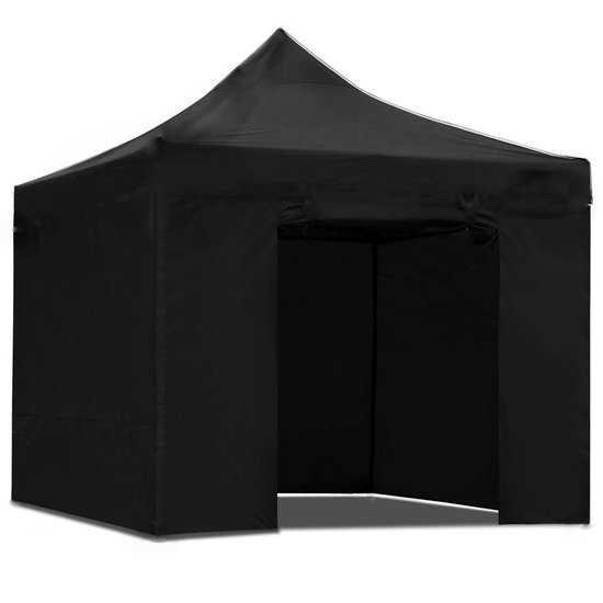 4332 Тент садовый S8.1, 3x3м черный  фото
