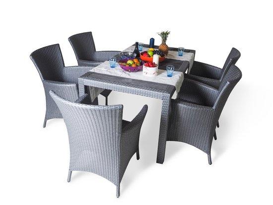 Фото №14 Обеденный стол КАПРИ (прямоугольный)