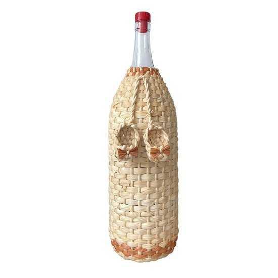 Бутылка 3,075л «Четверть» декор фото