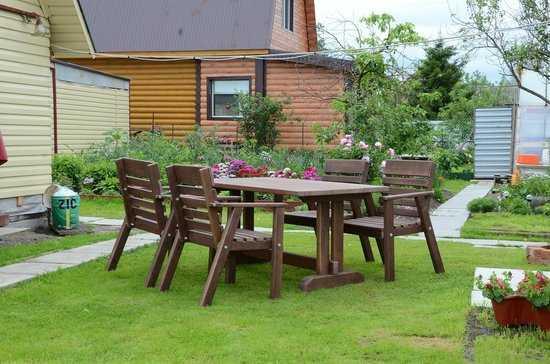 Фото №2 Комплект садовой мебели АИДА