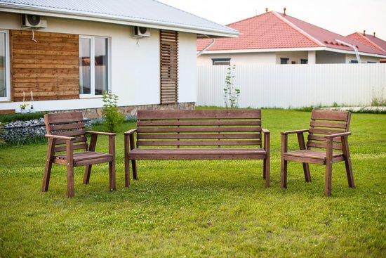 Фото №3 Садовая скамья АТЭНА