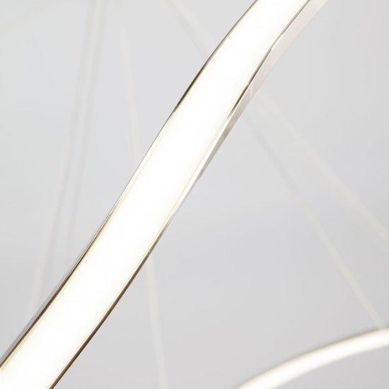 Фото №6 Светодиодный подвесной светильник 90109/3 сатин-никель