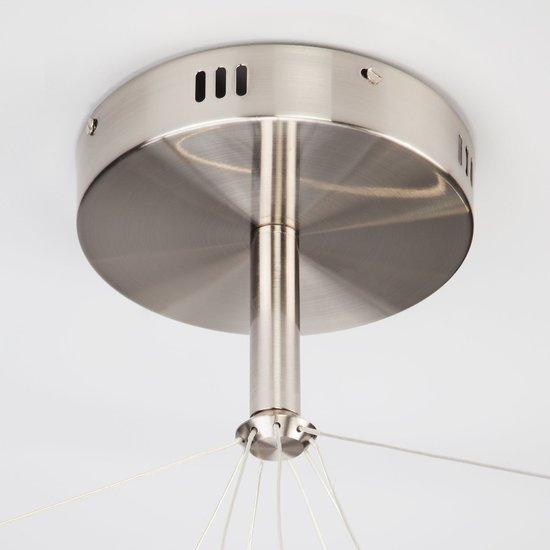 Фото №8 Светодиодный подвесной светильник 90109/3 сатин-никель