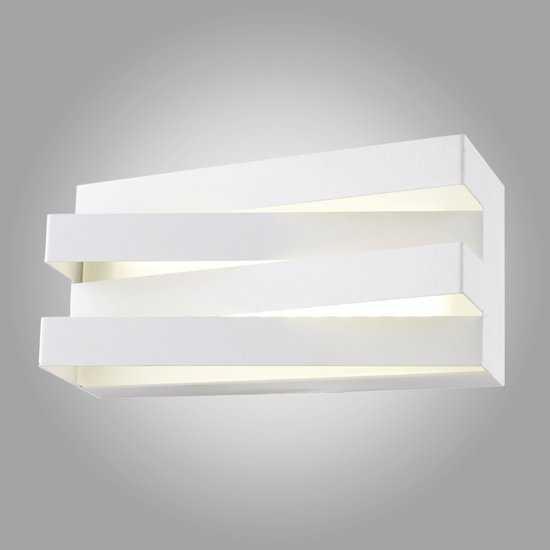 Светодиодный настенный светильник 40137/1 белый фото