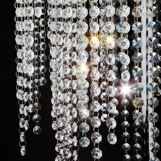 Фото №4 Торшер светодиодный с хрусталем 80412/2 хром