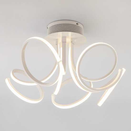 Светодиодный потолочный светильник 90111/5 белый фото