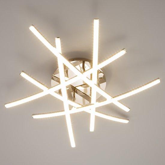 Фото №3 Светодиодный потолочный светильник 90107/6 хром