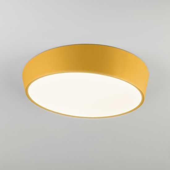Светодиодный потолочный светильник 90113/1 желтый фото