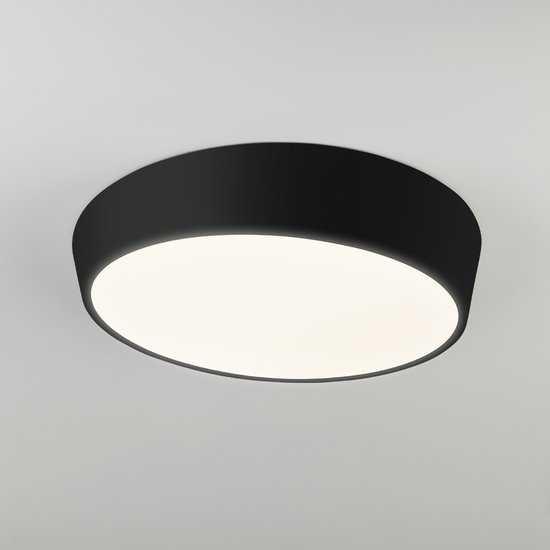 Светодиодный потолочный светильник 90113/1 черный фото