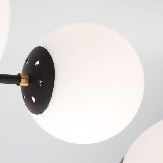 Фото №6 Потолочная люстра в стиле лофт 70091/8 черный
