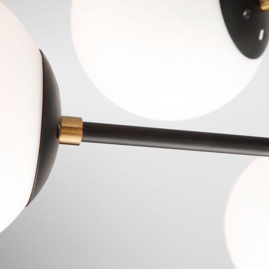 Фото №7 Потолочная люстра в стиле лофт 70091/8 черный