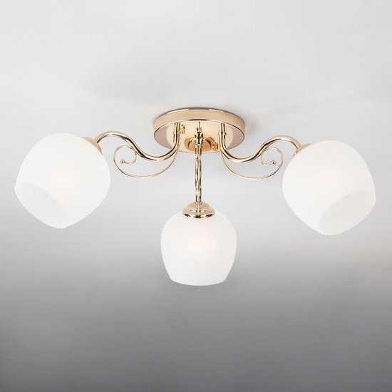 Фото №2 Потолочный светильник 30138/3 золото