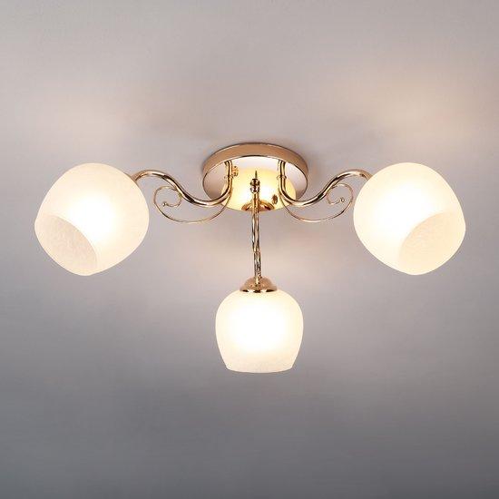 Фото №3 Потолочный светильник 30138/3 золото