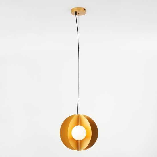 Фото №2 Подвесной светильник 50144/3 золото