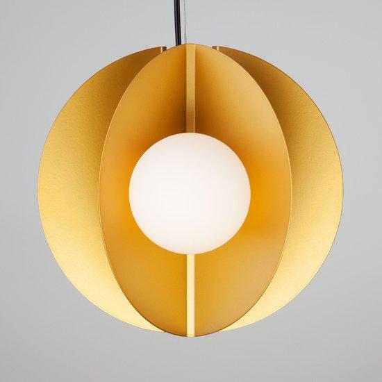 Фото №4 Подвесной светильник 50144/3 золото
