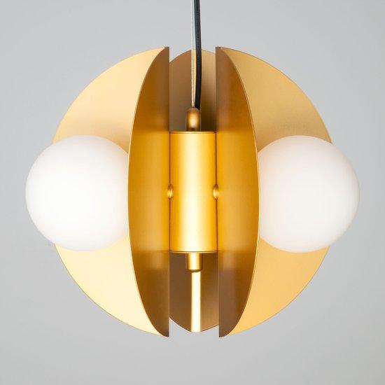 Фото №5 Подвесной светильник 50144/3 золото