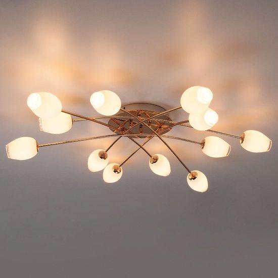 Фото №4 Потолочный светильник 30135 золото