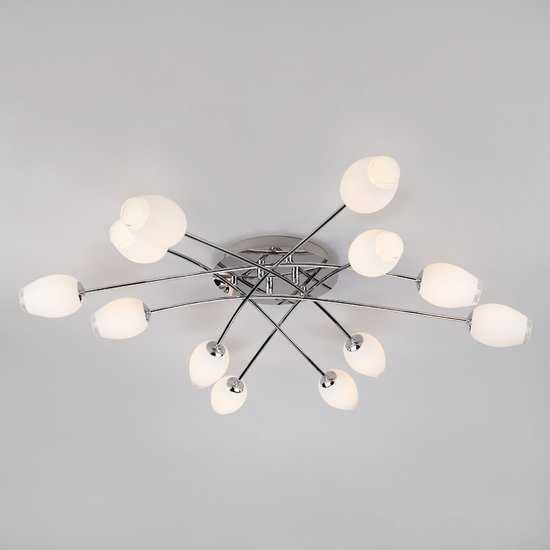 Потолочный светильник 30135 хром фото