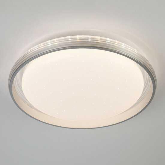 Светодиодный потолочный светильник 40016/1 LED серебряный фото