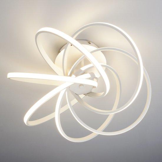 Фото №3 Светодиодный потолочный светильник 90044/6 белый