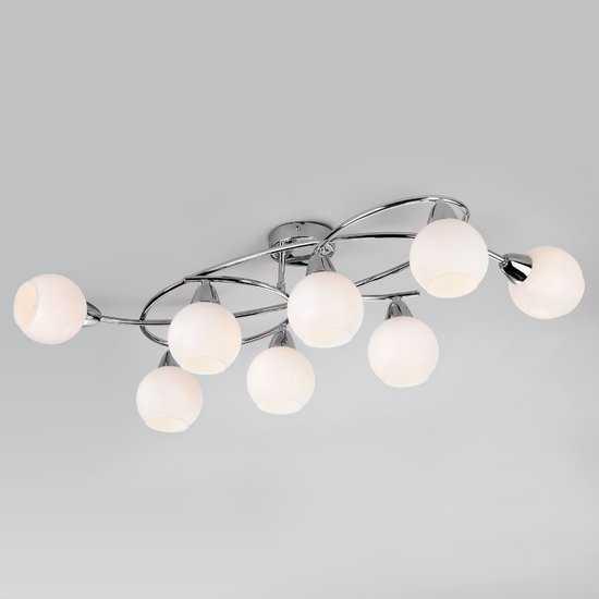 Потолочный светильник 30133/8 хром фото
