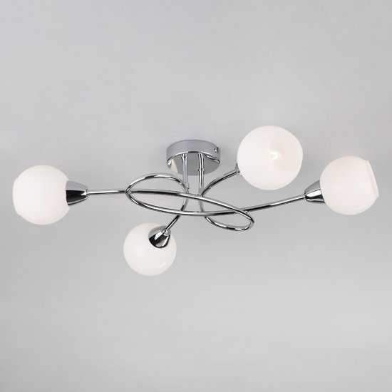 Потолочный светильник 30133/4 хром фото