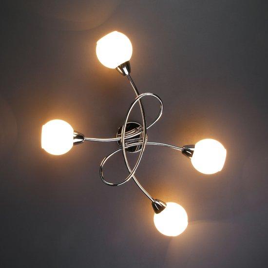 Фото №6 Потолочный светильник 30133/4 хром