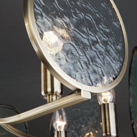 Фото №11 Потолочная люстра 60073/8 античная бронза