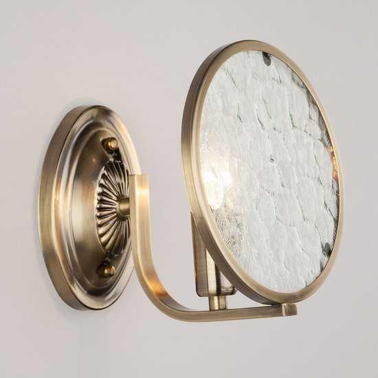 Бра 60073/1 античная бронза фото