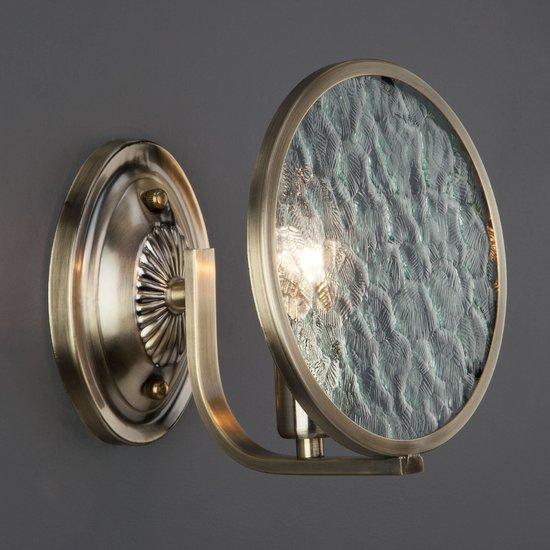 Фото №3 Бра 60073/1 античная бронза
