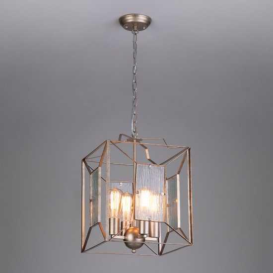 Подвесной светильник в стиле Лофт 298/4 фото