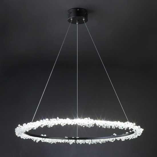 Светодиодный светильник с хрусталем 429/1 Strotskis фото
