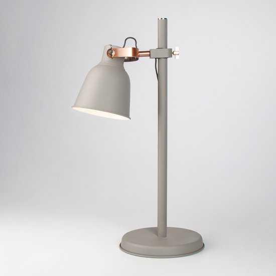 Фото №2 Настольная лампа 01031/1 серый