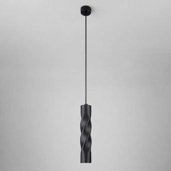 Светодиодный подвесной светильник 50136/1 LED черный фото