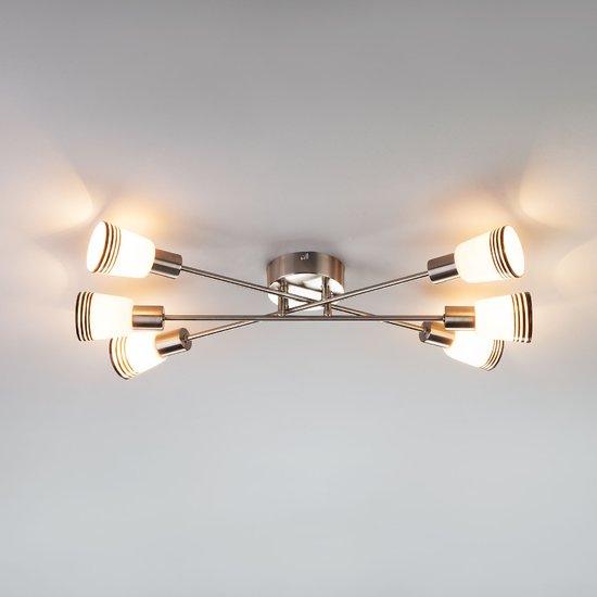 Фото №5 Потолочный светильник 30132/6 сатин-никель