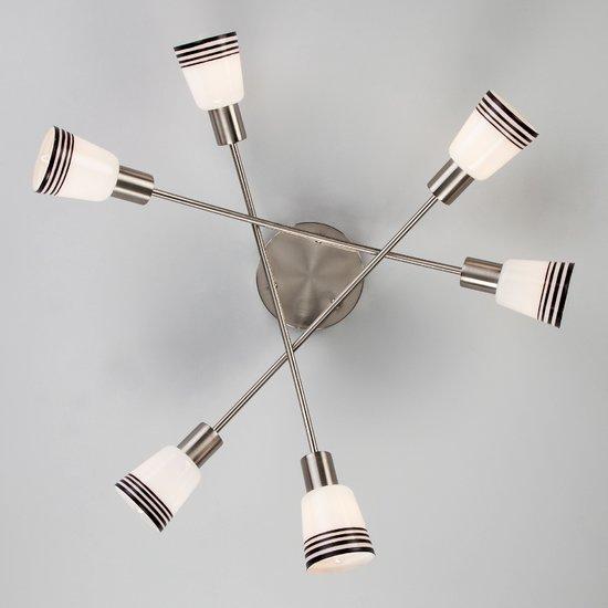Фото №4 Потолочный светильник 30131/6 сатин-никель