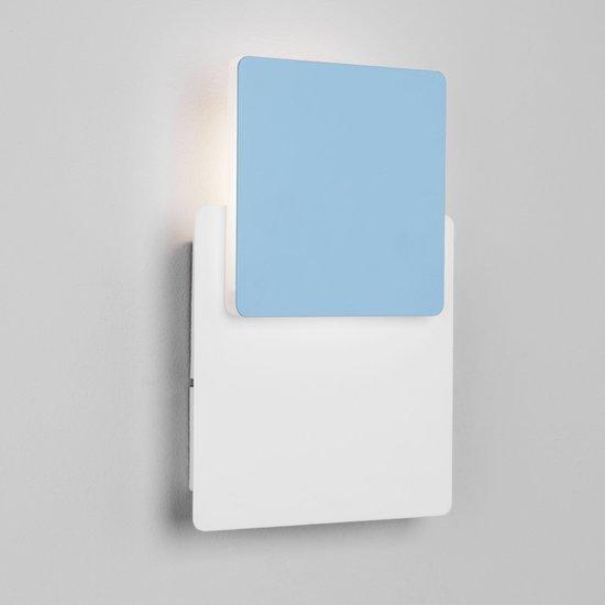 Фото №5 Светодиодный настенный светильник 40136/1 белый/голубой