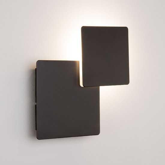 Светодиодный настенный светильник 40136/1 черный фото
