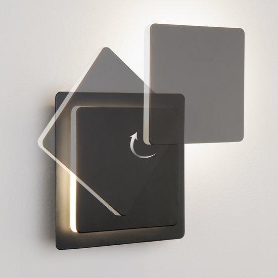 Фото №3 Светодиодный настенный светильник 40136/1 черный