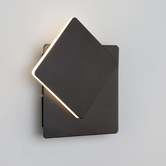 Фото №4 Светодиодный настенный светильник 40136/1 черный
