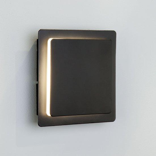 Фото №6 Светодиодный настенный светильник 40136/1 черный