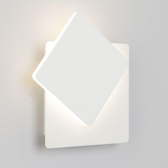 Фото №4 Светодиодный настенный светильник 40136/1 белый