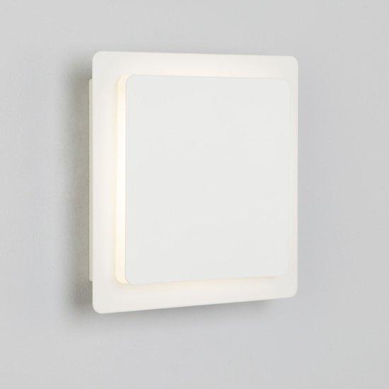Фото №6 Светодиодный настенный светильник 40136/1 белый