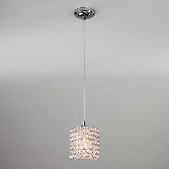 Подвесной светильник 50068/1 хром фото