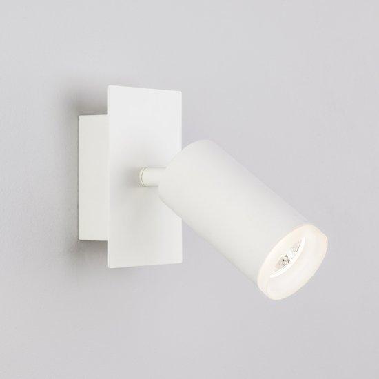 Фото №3 Светодиодный настенный светильник с поворотным плафоном 20067/1 белый