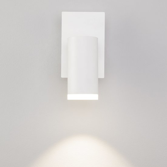 Фото №5 Светодиодный настенный светильник с поворотным плафоном 20067/1 белый
