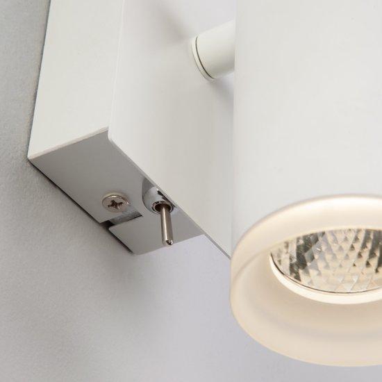 Фото №6 Светодиодный настенный светильник с поворотным плафоном 20067/1 белый