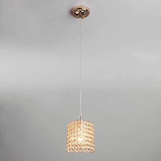 Фото №2 Подвесной светильник 50068/1 золото