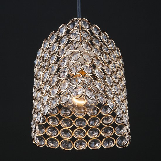 Фото №4 Подвесной светильник 50068/1 золото